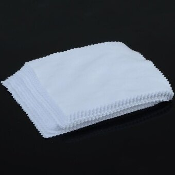 10PCS Microfiber Cleaning Cloth For Camera Tab Screens Glasses Lens Cleaner - intl