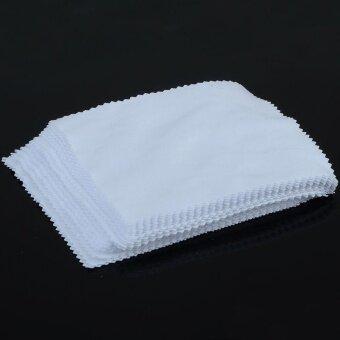 10PCS Microfiber Cleaning Cloth For Camera Tab Screens Glasses LensCleaner - intl