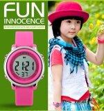 1100 SKMEI แบรนด์นาฬิกาเด็กนาฬิกาแฟชั่น LED ดิจิตอลกีฬา Relojes Mujer ชายหญิงเด็กการ์ตูนเยลลี่กันน้ำ Relogio Feminino - นานาชาติ