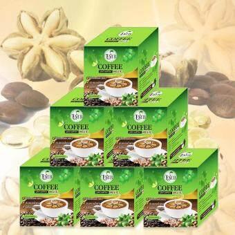 กาแฟถั่วดาวอินคา รสกลมกล่อม กล่องบรรจุ 12 ซอง 6 กล่อง UMB SachaInchi Coffee Mix (image 0)