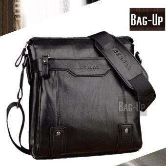 กระเป๋าสะพายข้างผู้ชายรุ่น 1204B (สีดำ)