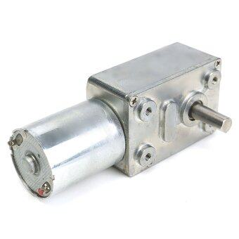 12V 10Rpm Reversible High Torque Turbo Worm Geared Motor DC Motor JGY370 NEW - intl