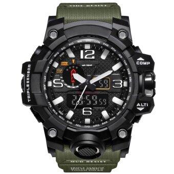 1545 SMAEL แบรนด์นาฬิกาหรูคู่แสดงนาฬิกาบุรุษทหารควอตซ์นาฬิกาผู้ชายช็อกทนกีฬาสไตล์ดิจิตอลนาฬิกา Relogio - นานาชาติ
