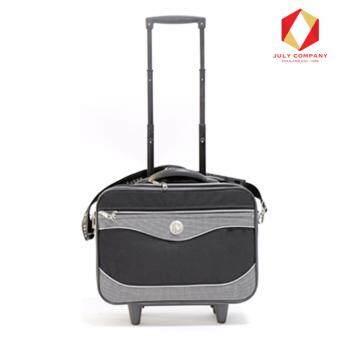 ขายด่วน กระเป๋าเอกสาร+เดินทางคันชักล้อลากทรงสี่เหลี่ยมผืนผ้า1987/Mสีดำ