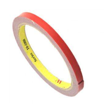 1pc 2M X 6MM Vehicle Double Sided Sticker Acrylic Foam Adhesive Interior Tape