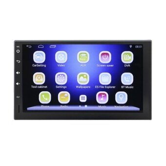 2 din 7 inch Android 4.4.4 car DVD player HD Touch Screen 1080P+Carema (...) - intl