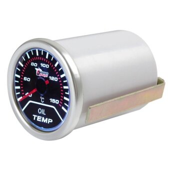 2 inch 52mm 40-150 Degree Celsius Car Motor Indicator Oil TempGauge With Led Display - intl