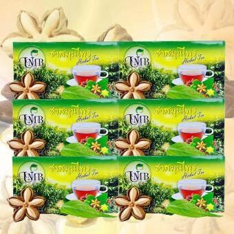 ชาถั่วดาวอินคา (สมุนไพร) 20 ซอง 6 กล่อง UMB Herbal Tea