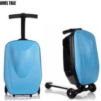 กระเป๋าเดินทาง 20 นิ้ว แบบสกู๊ตเตอร์