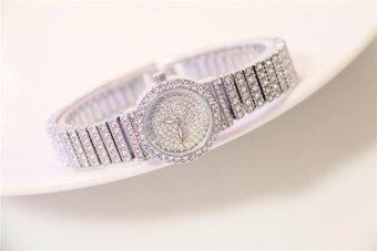 2017 New Hot Selling Women Diamond Brecelet Watch Women Dress Quartz Woman Watches Brand Luxury - intl - 5