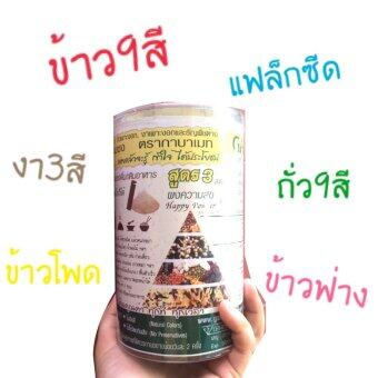 เครื่องดื่มผงสกัดจากข้าวเพาะงอกและธัญพืช 24 ชนิด (Gabamate)