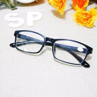 แว่นตาสายตาสั้น-275 แว่นสายตาสั้นมองไกลทรงเหลี่ยมเล็กมาตราฐานสีทูโทนสดใสใหม่ - 3