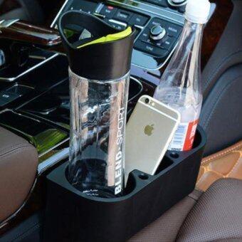 ที่วางแก้ว 3 in 1 อเนกประสงค์ ระหว่างเบาะ กันของ ตก Cup Holder Car multifunction car racks car phone holder cup holder spacer glove box triple
