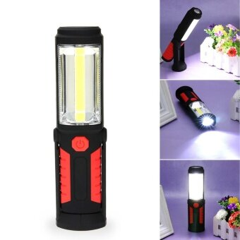360 Lighting Maintenance Lights LED Car Working emergency Lamp withMagnet(Red) - intl รูบที่ 2