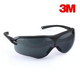 3M แว่นตานิรภัยรุ่น Virtua Sport Asian Fit เลนส์โพลีคาร์โบเนต กันฝ้า กันกระแทก (สีดำ)