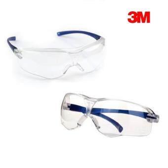 3M แว่นตานิรภัย Virtua Sport Asian Fit เลนส์โพลีคาร์โบเนต กันฝ้า กันกระแทก (ใส)