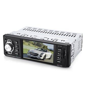 4016C 4.1 นิ้ว HD Digital Vehicle MP5 เครื่องเล่น DVD วิทยุ FM USB SD AUX อินเทอร์เฟซ (สีดำ)