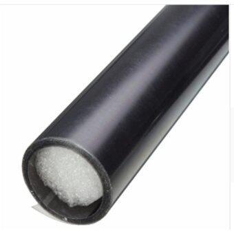 ฟิล์มติดโคมไฟรถยนต์ - สีรมดำ ขนาด 40*200 cm. รูบที่ 2