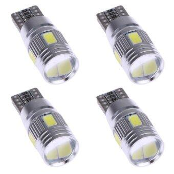4pcs Car LED Lights Canbus T10 5630 6SMD Decoding W5W Show WideLights - intl