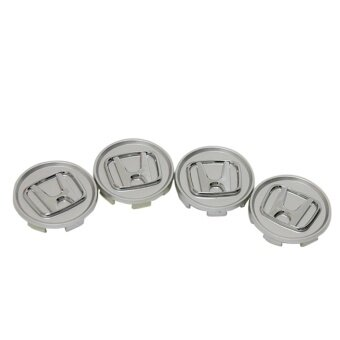 4pcs diameter 69mm Honda logo emblem Wheel Center Hub Caps Dust-proof Badge logo covers car styling Auto accessories (white) - intl