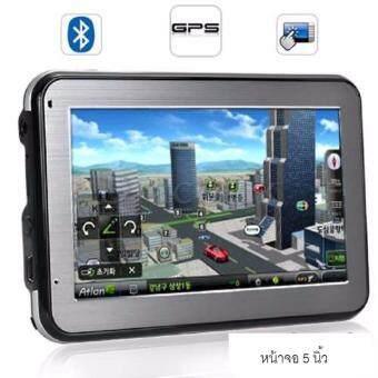ระบบนำทางติดรถยนต์ ขนาดจอ 5.0นิ้ว เมนูไทย เสียงไทย เมม4GB พร้อมบลูทูธในตัว