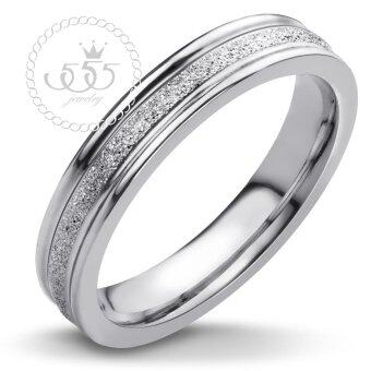 555jewelry Stainless Steel 316L แหวน รุ่น MNC-R300-A (Steel)