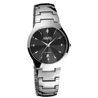 New Arrival NARY 6112Watch Single Calendar Couple's Quartz Watch(black)