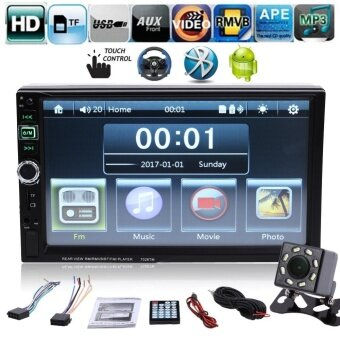 7 inch 2 Din Bluetooth Touch Screen Car Radio Android Phone WithCamera - intl