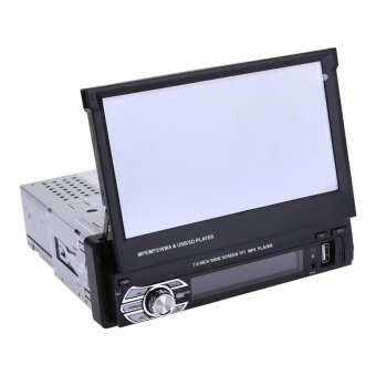 7 Inch DC 24V Telescopic Large Screen Bluetooth Car MP5 Player -intl