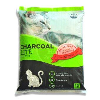 รีวิว ทรายแมว จากถ่านกัมมันต์และเบนโทไนท์ สูตรไลท์ ฝุ่นน้อย 89.98%
