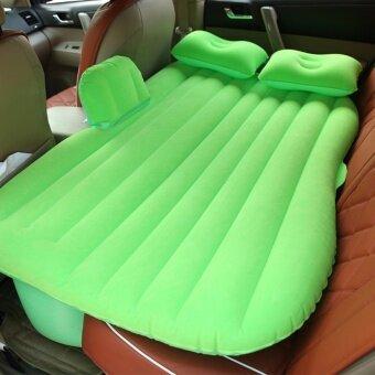 เบาะนอนลมยางสำหรับใช้นอนในรถยนต์ ที่นอนในรถเกรด A ราคาถูกที่สุด car air bed(green)