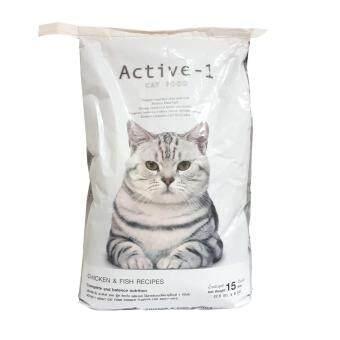 ACTIVE-1 CAT FOOD (อาหารแมวแอ็คทีฟ-วัน) ขนาด 15 กิโลกรัม