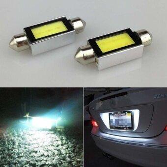 ADS Professional Lighting Accessories Xenon Car Auto Trunk COB LED Bulbs License Plate Light 90LM C5W 4W 12V Hot - intl