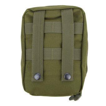 Airsoft Molle ยุทธวิธีทหารสะพายกระเป๋าปฐมพยาบาลแพทย์ สีเขียว