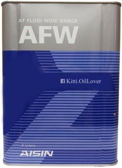 Aisin AT Fluid Wide Range AFW น้ำมันเกียร์อัตโนมัติ Fully Synthetic (4 ลิตร)