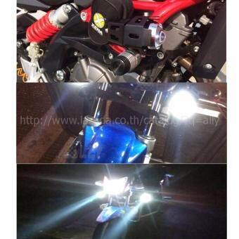 ALLY ไฟตัดหมอก LED 125 3000LM สำหรับรถจักรยานยนต์ ไฟตัดหมอก มอเตอร์ไซต์ ATV ออฟโรด U5 จำนวน 1ชิ้น (ขอบสีดำ) - แถมฟรี!! Switch On/Off Motorcycle 1 ชิ้น มูลค่า 200 บาท - 5