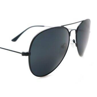 0d195e0f1be ... ALP Polarized Sunglasses แว่นกันแดด Aviator Style รุ่น ALP-3025-BKT-BKP  (