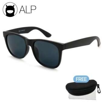 d54a74a9cce ALP Sunglasses แว่นกันแดด Wayfarer Style รุ่น ALP-0012-BKT-BK (Black ...