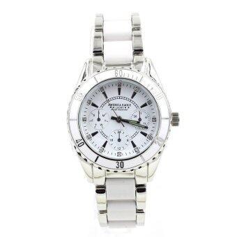 America Eagle นาฬิกาข้อมือผู้หญิง กันน้ำได้ รุ่น WP8111 (White) พิเศษแถมซองนาฬิกาสุดหรู