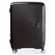 American Tourister กระเป๋าเดินทาง รุ่น CURIO SPINNER 80/30 EXP TSA สี BLACK