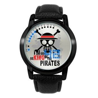 'Anime LED Touching Screen Waterproof 100M Boys'' FashionWatches(Color:ONE PIECE) - intl'
