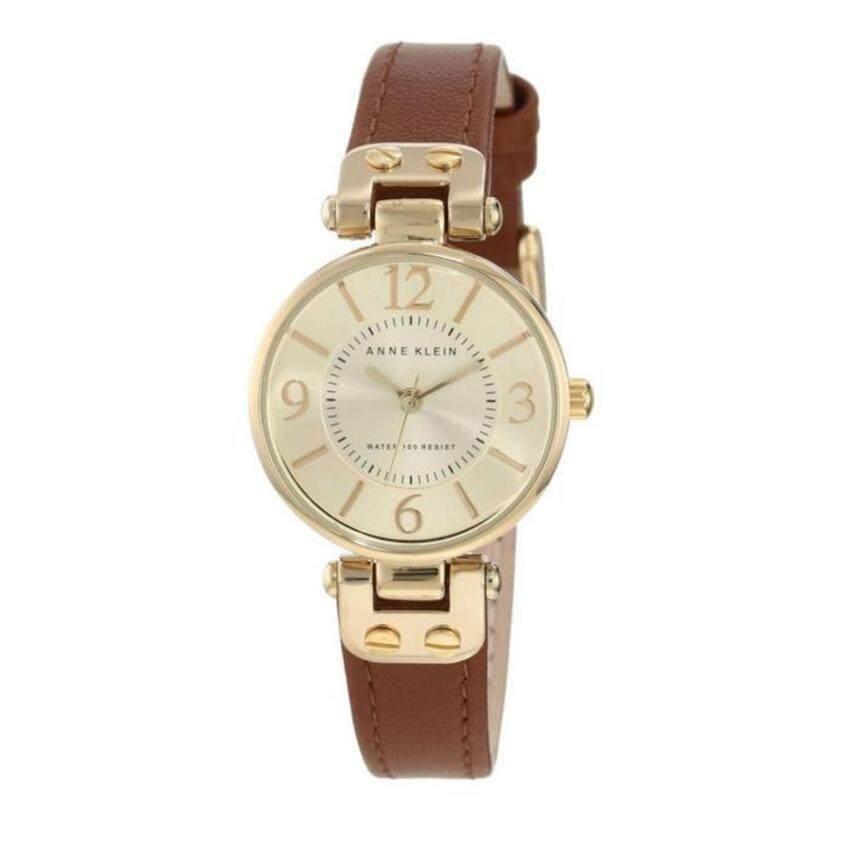 Anne Klein นาฬิกาข้อมือผู้หญิง สีน้ำตาล รุ่น 9442CHHY ซื้อที่นี่ถูกกว่าร้านอื่น
