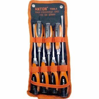 Anton ชุดไขควงตอก เซ็ท 7 ชิ้น+U&W ชุดดอกสว่านสแตนเลส เจาะเหล็ก 19ชิ้น ขนาด1-10มิล. รูบที่ 2