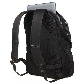 Aspensport กระเป๋าเป้ เป้สะพายหลัง Laptop 16 นิ้ว ชาย หญิง กันน้ำ รุ่น ASB09 - Black - 5