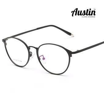 Austin กรอบแว่นตาวินเทจ รุ่น AT2608 - Super Black