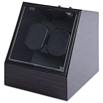 Auto Mute Watch Winder Irregular Shape Wristwatch Display Box Jewelry Storage Case With EU Plug - intl
