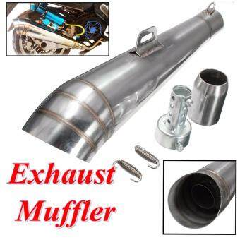 Autoleader Universal Motorcycle Exhaust Muffler Pipe Tips For PipeDiameter 38mm-51mm - Intl