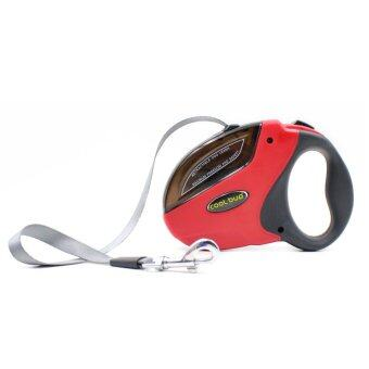 Automatic Retractable 5M Pet Automatic Retractable Traction Rope ( Red )