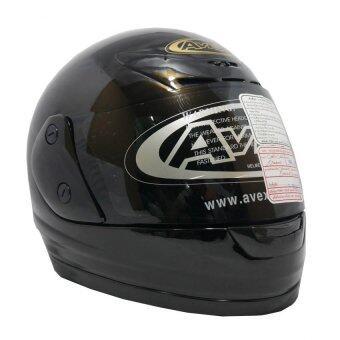 AVEXหมวกกันน็อกเต็มใบ รุ่น XRดำเงา