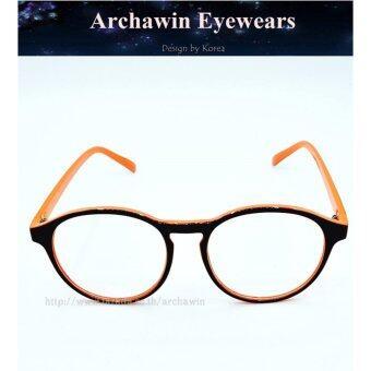 แว่นตากรองแสง แว่นกรองแสง กรอบแว่นตา แฟชั่น เกาหลี รุ่น AW 7860 (กรองแสงคอม กรองแสงมือถือ ถนอมสายตา)